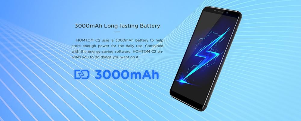 HOMTOM C2 4G okostelefon