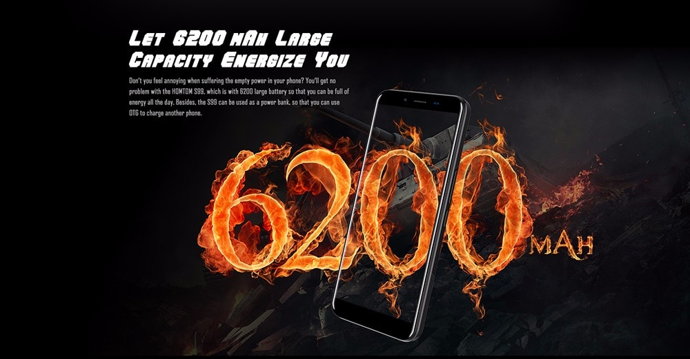 HOMTOM S99 4G okostelefon