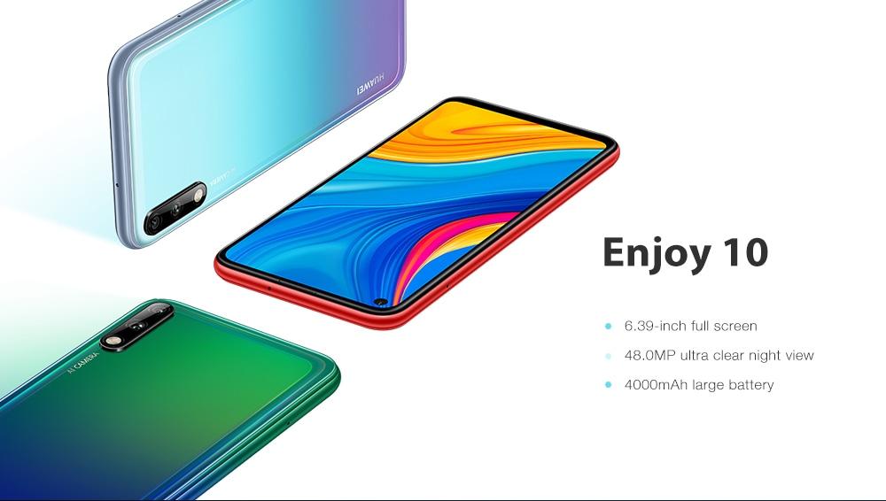 HUAWEI Enjoy 10 4G Phablet 6.39 inch- Red 4GB RAM 64GB ROM
