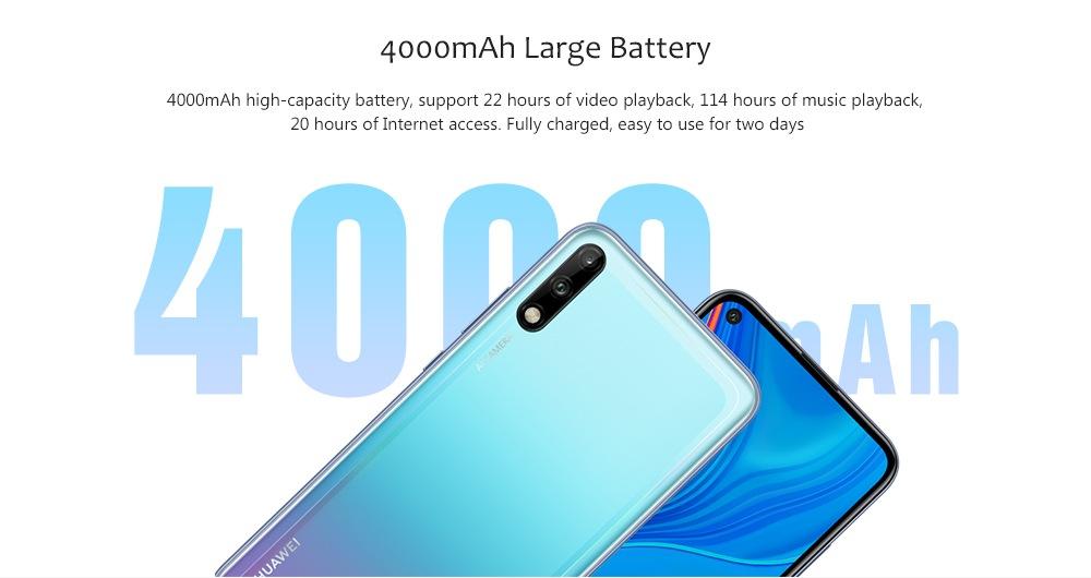 HUAWEI Enjoy 10 4G Phablet 6.39 inch- Light Blue 4GB RAM 128GB ROM