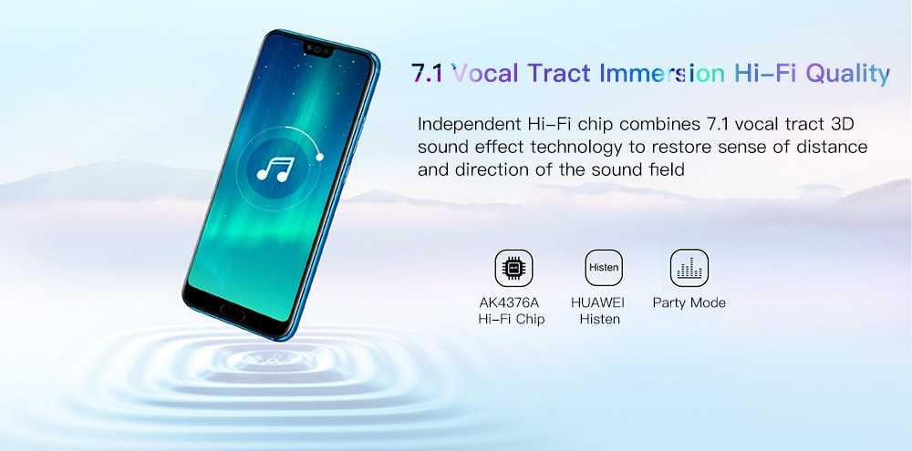 HUAWEI Honor 10 4G okostelefon