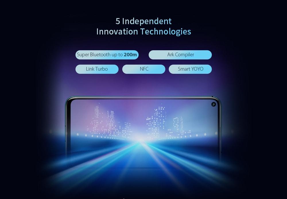 HUAWEI Honor 20 PRO 4G Phablet 6.26 inch Magic UI 2.1 Kirin 980 Octa Core 8GB RAM 128GB ROM 48.0MP + 16.0MP + 8.0MP + 2.0MP Rear Camera 4000mAh Battery- Purple Amethyst