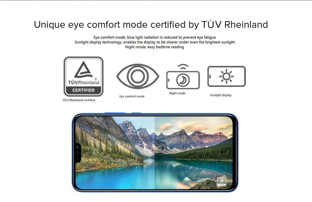 HUAWEI Honor 8X 4G Phablet 6.5 inch Android 8.1 Kirin 710 Octa-core 2.2GHz 4GB RAM 128GB ROM 20.0MP + 2.0MP Rear Camera Fingerprint Sensor 3750mAh Built-in- Black