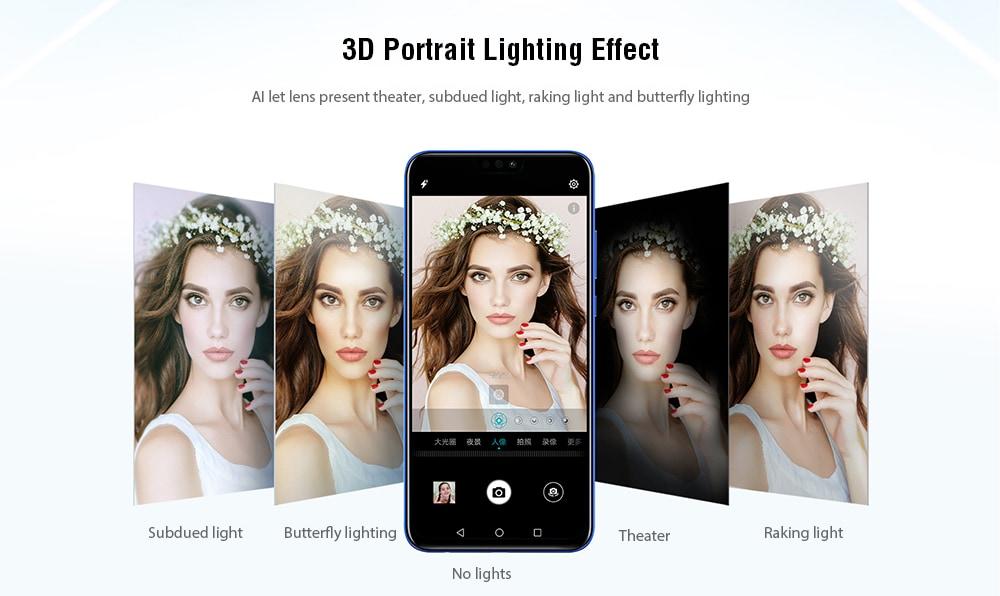 HUAWEI Honor 8X 4G Phablet 6.5 inch EMUI 8.2 ( Android 8.1 ) Hisilicon Kirin 710 Octa Core 2.2GHz 4GB RAM 64GB ROM 20.0MP + 2.0MP Rear Camera Fingerprint Sensor 3750mAh Built-in- Black
