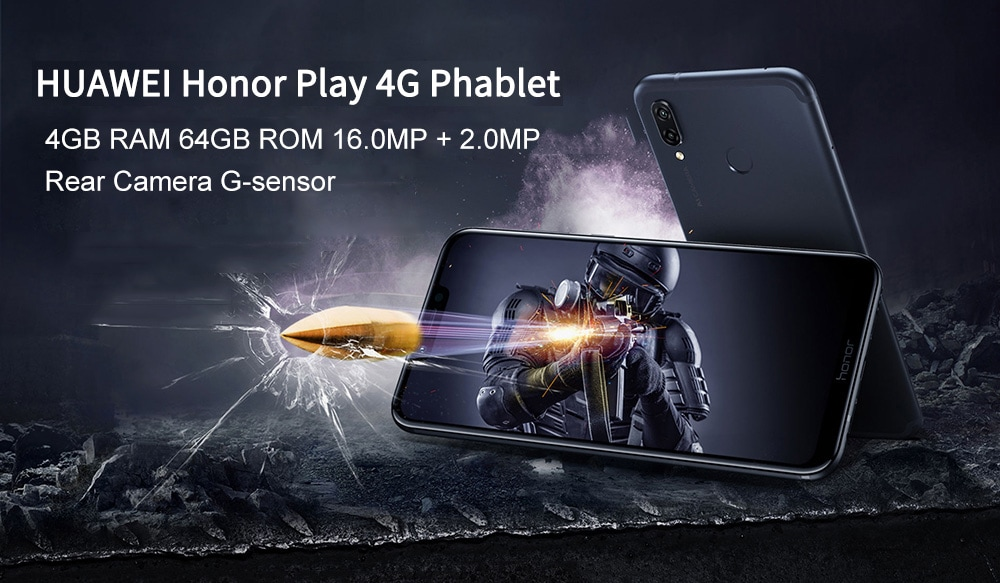 HUAWEI Honor Play 4G okostelefon
