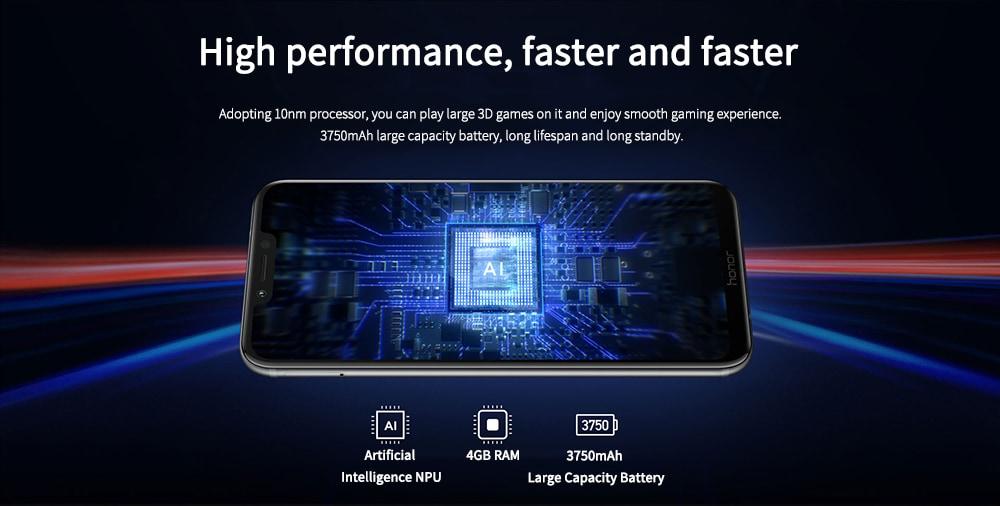 HUAWEI Honor Play 4G okostelefon