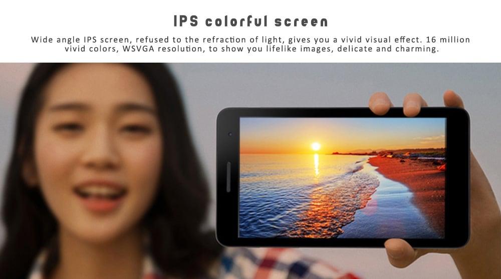 HUAWEI Honor Play 7,0 hüvelykes 4G Phablet EMUI 4.0 (Android 6.0) Qualcomm Snapdragon 425 Quad Core 1.5GHz 2GB RAM 16 GB ROM 2.0MP Kettős kamera 4100mAh Beépített - Champagne Gold