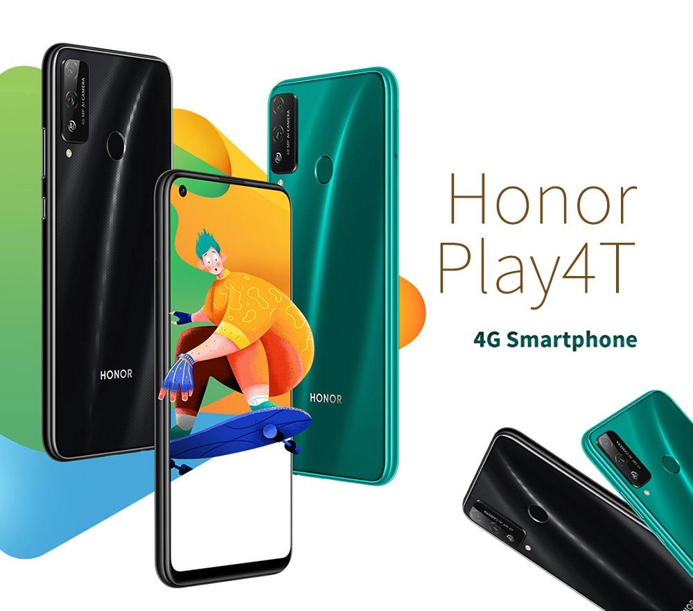 HUAWEI Honor Play4T 4G okostelefon