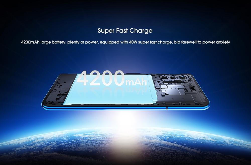 HUAWEI Honor V30 5G Phablet 6GB RAM 128GB ROM- Black