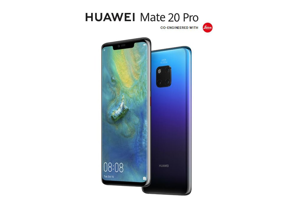 HUAWEI Mate 20 Pro 4G Phablet 6.39 inch EMUI 9.0 ( Android 9.0 ) Kirin 980 Octa Core 2.6GHz 6GB RAM 128GB ROM Quad Camera Fingerprint Sensor 4200mAh Built-in  - Emerald Green