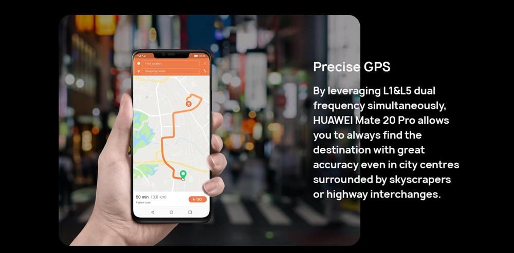 HUAWEI Mate 20 Pro 4G Phablet 6.39 inch EMUI 9.0 ( Android 9.0 ) Kirin 980 Octa Core 2.6GHz 6GB RAM 128GB ROM Quad Camera Fingerprint Sensor 4200mAh Built-in  - Emerald Green