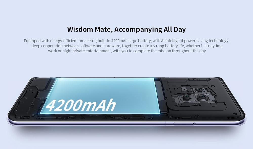 HUAWEI Mate 30 4G Phablet 8GB RAM 128GB ROM- Violet