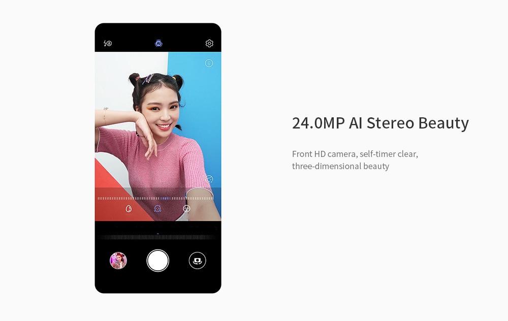 HUAWEI nova 5i 4G Phablet 6.4 inch Android 9.0 Kirin 710F Octa Core 1.7GHz 6GB RAM 128GB ROM 24.0MP + 8.0MP + 2.0MP + 2.0MP Rear Camera 4000mAh Battery- Black