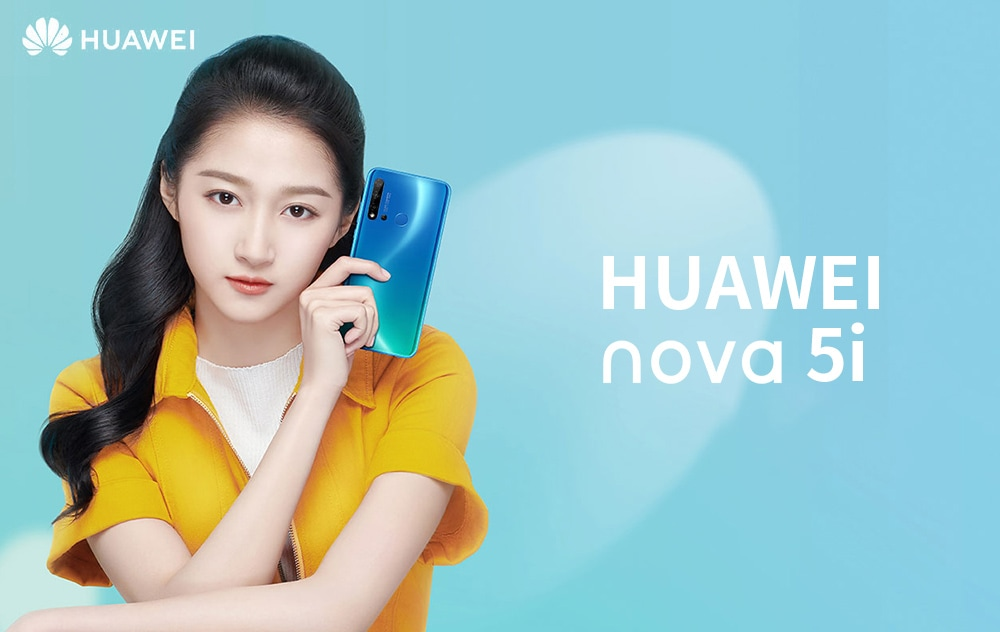 HUAWEI nova 5i 4G Phablet 6.4 inch Android 9.0 Kirin 710F Octa Core 1.7GHz 8GB RAM 128GB ROM 24.0MP + 8.0MP + 2.0MP + 2.0MP Rear Camera 4000mAh Battery- Black