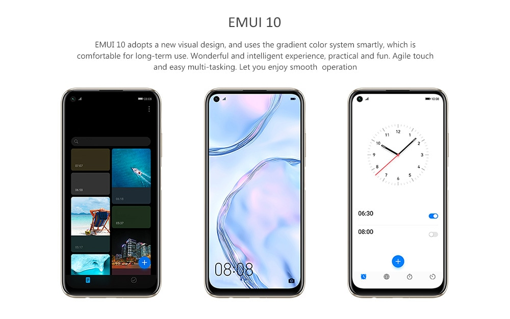 HUAWEI nova 6 SE 4G Smartphone 8GB RAM 128GB ROM- Green