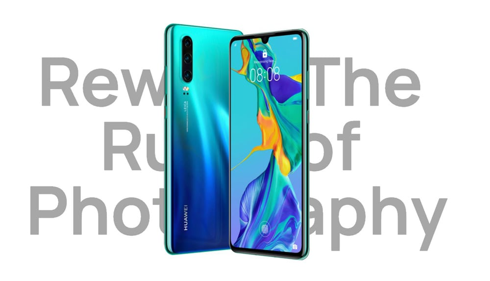 HUAWEI P30 4G Phablet 6.1 inch EMUI9.1.0 ( Android 9 ) Kirin 980 Octa Core 2.6GHz 8GB RAM 128GB ROM 32.0MP Front Camera Screen Fingerprint Sensor 3650mAh Built-in- Sky Blue