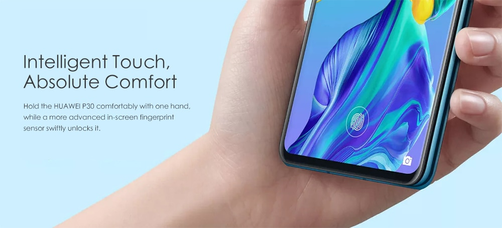 Huawei P30 4G Phablet 6.1 inch EMUI 9.1.0 ( Android 9 ) Kirin 980 Octa Core 2.6GHz 8GB RAM 128GB ROM 40.0MP + 16.0MP + 8.0MP Rear Camera 32.0MP Front Camera 3650mAh Built-in- Black