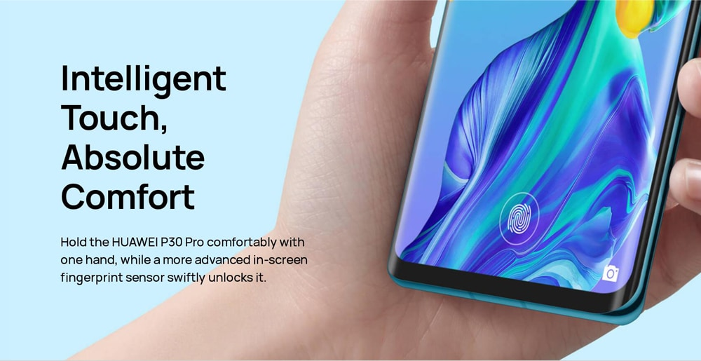 HUAWEI P30 Pro 4G Phablet 6.47 inch EMUI 9.1 ( Android 9.0 ) Kirin 980 Octa Core 2.6GHz 8GB RAM 256GB ROM 32.0MP Front Camera Fingerprint Sensor 4200mAh Built-in- Twilight