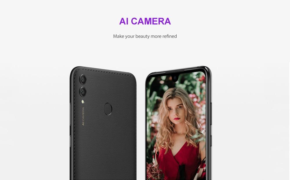 HUAWEI Y Max 4G Phablet 7.12 inch EMUI 8.2 Qualcomm Snapdragon 660 Octa Core 1.95GHz + 1.8GHz 4GB RAM 128GB ROM 16.0MP + 2.0MP Rear Camera 5000mAh Battery- Black