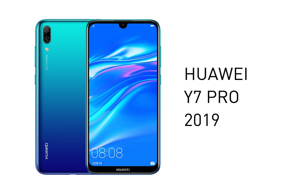 HUAWEI  Y7 PRO 2019 4G Phablet 6.26 inch Android O Qualcomm Snapdragon 450 Octa Core 1.8GHz 3GB RAM 32GB ROM 13.0MP + 2.0MP Rear Camera 4000mAh Battery- Red