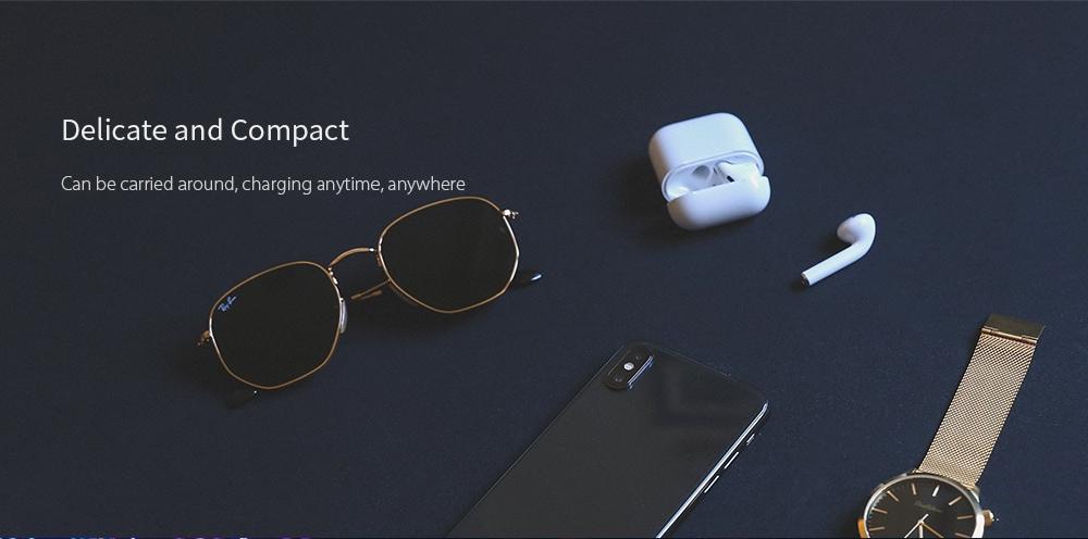 i15 Max Mini fülhallgatók - Érintse meg a vezeték nélküli Bluetooth 5.0 fülhallgatókat - Fehér