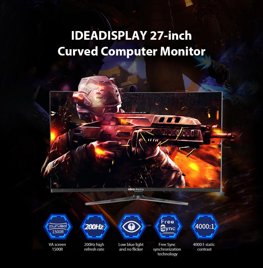 IDEADISPLAY YM27R 27 hüvelykes játékgép-monitor