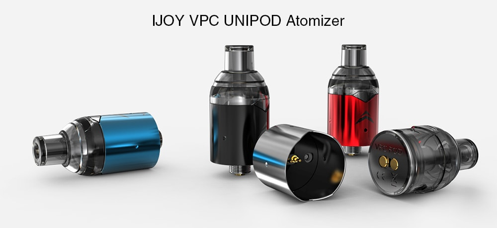 IJOY VPC UNIPOD Atomizer with 2ml Capacity for E Cigarette- Silver