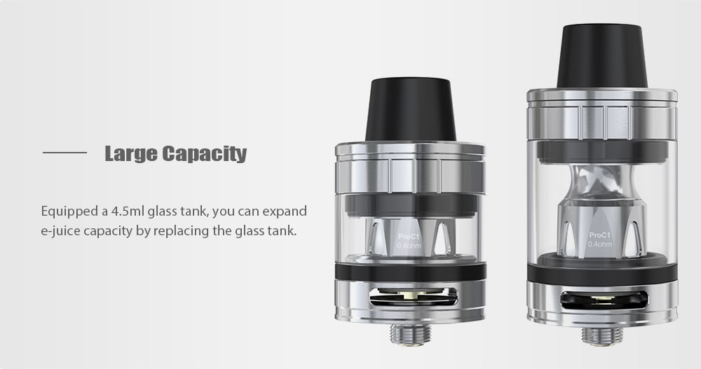 Joyetech ESPION 200W ProCore X TC Kit with 200 – 600F / 2 / 4.5ml for E Cigarette- Gun Metal
