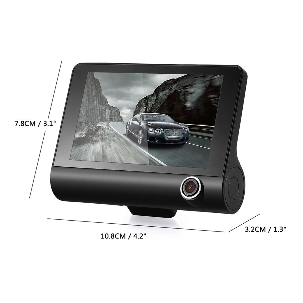 KATUXIN A32 Full HD 1080P autós DVR 170 fokos széles látószögű 4 hüvelykes Dash Cam éjszakai látás / G-érzékelő / parkoló monitor - fekete