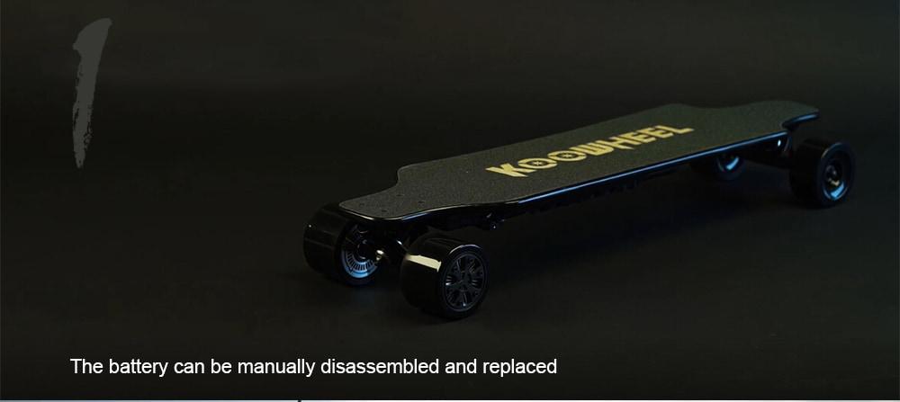 KOOWHEEL Kooboard 2. generációs elektromos gördeszka - Black Regular