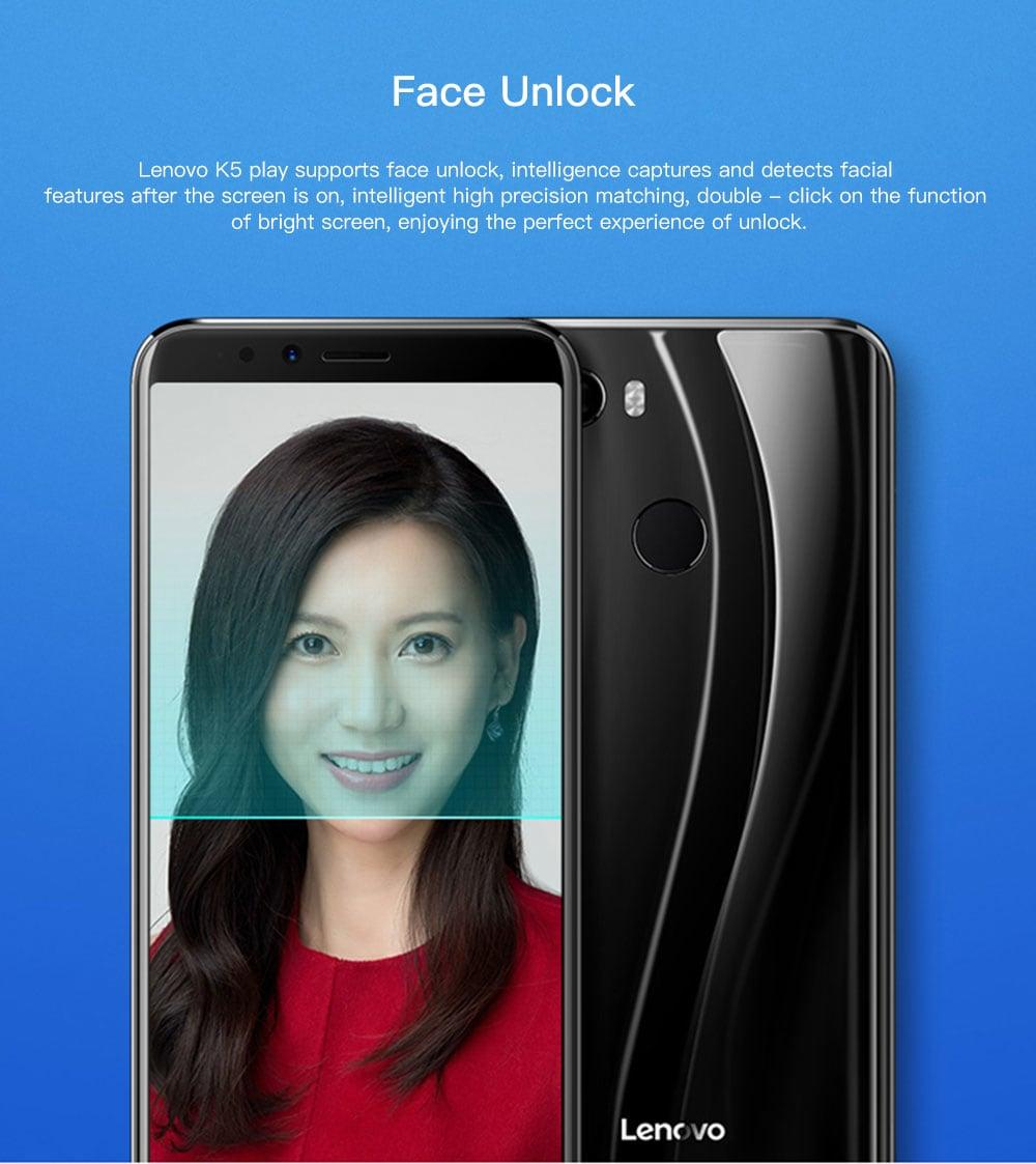 Lenovo K5 Play 4G okostelefon