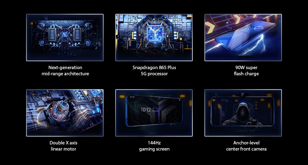 Lenovo Legion Pro 5G Smartphone features