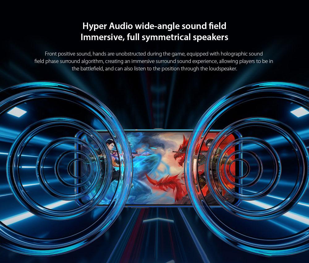 Lenovo Legion Pro 5G Smartphone Hyper Audio wide-angle sound field