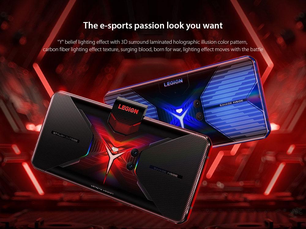 Lenovo Legion Pro 5G Smartphone The e-sports passion look you want
