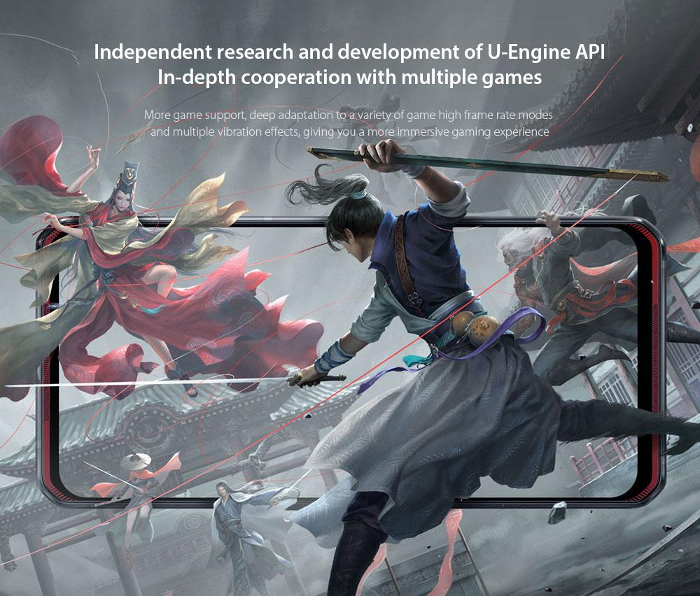 Lenovo Legion Pro 5G Smartphone Independent research and development of U-Engine API