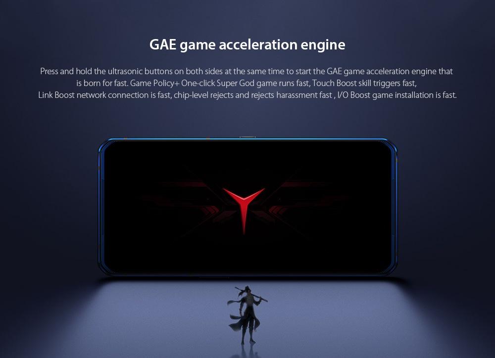 Lenovo Legion Pro 5G Smartphone GAE game acceleration engine