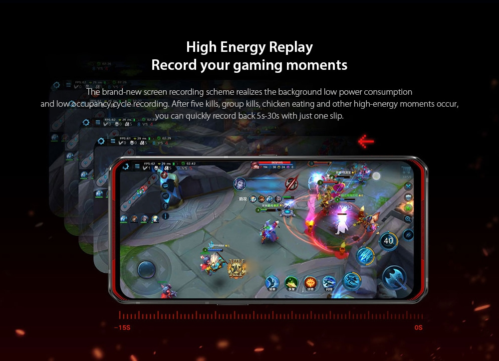 Lenovo Legion Pro 5G Smartphone High Energy Replay