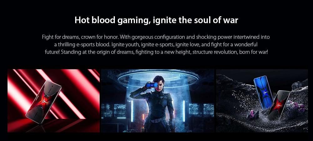 Lenovo Legion Pro 5G Smartphone Hot blood gaming, ignite the soul of war
