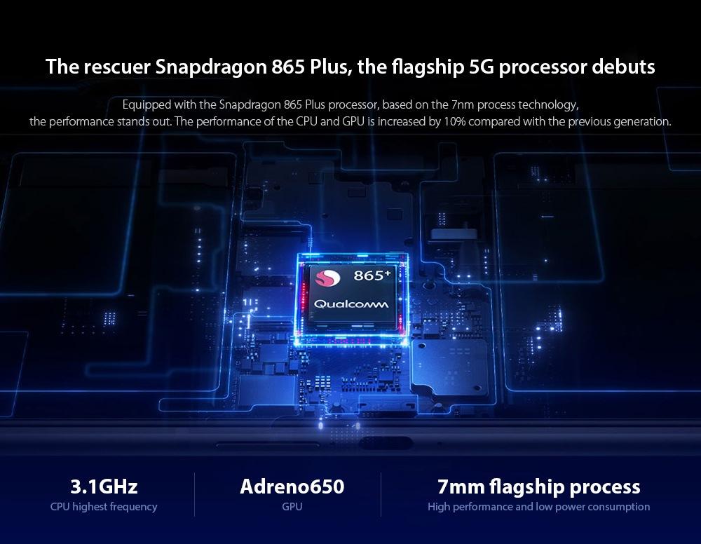 Lenovo Legion Pro 5G Smartphone The rescuer Snapdragon 865 Plus, the flagship 5G processor debuts