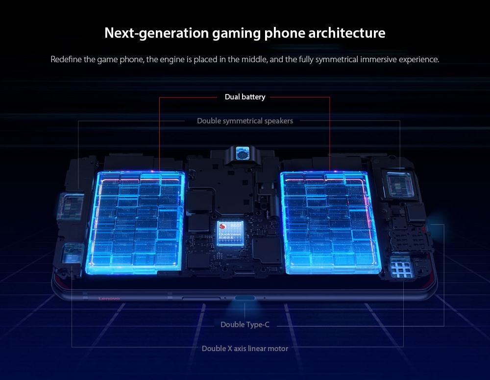 Lenovo Legion Pro 5G Smartphone Next-generation gaming phone architecture
