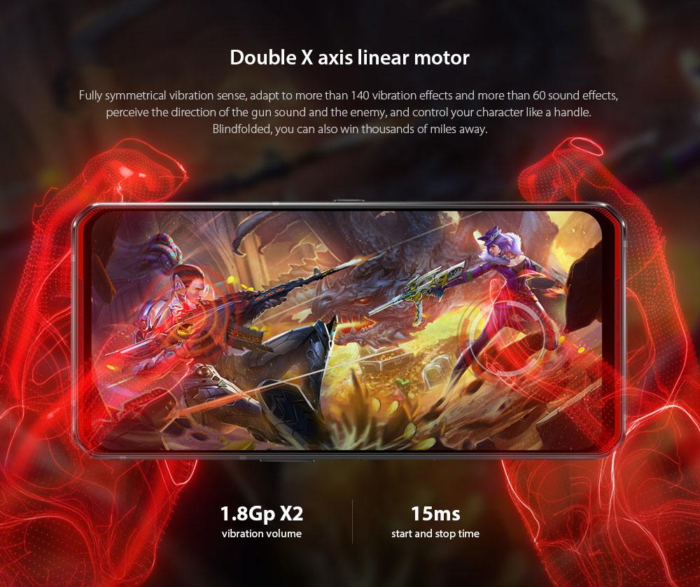 Lenovo Legion Pro 5G Smartphone Double X axis linear motor