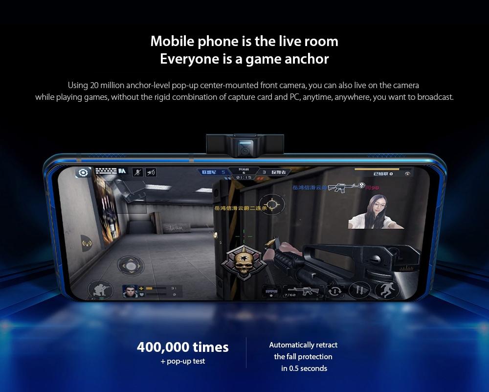 Lenovo Legion Pro 5G Smartphone Mobile phone is the live room