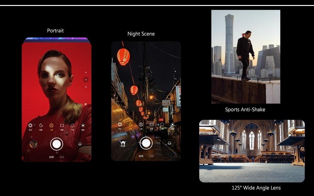 Lenovo Z6 Pro 4G Phablet 6.39 inch Android 9.0 Snapdragon 855 Octa Core 6GB RAM 128GB ROM 48.0MP + 16.0MP + 8.0MP + 2.0MP Rear Camera 4000mAh Battery- Black