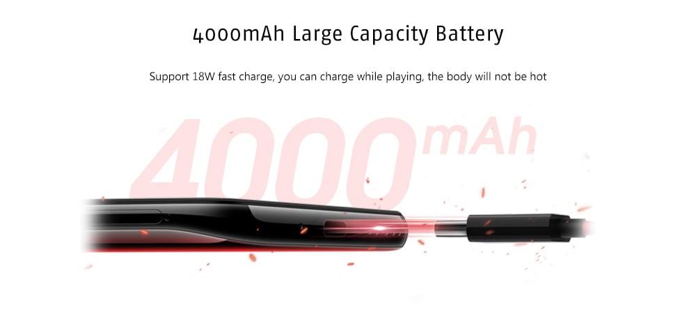 Lenovo Z6 Pro 4G Phablet 6.39 inch Android 9.0 Snapdragon 855 Octa Core 8GB RAM 128GB ROM 48.0MP + 16.0MP + 8.0MP + 2.0MP Rear Camera 4000mAh Battery- Black