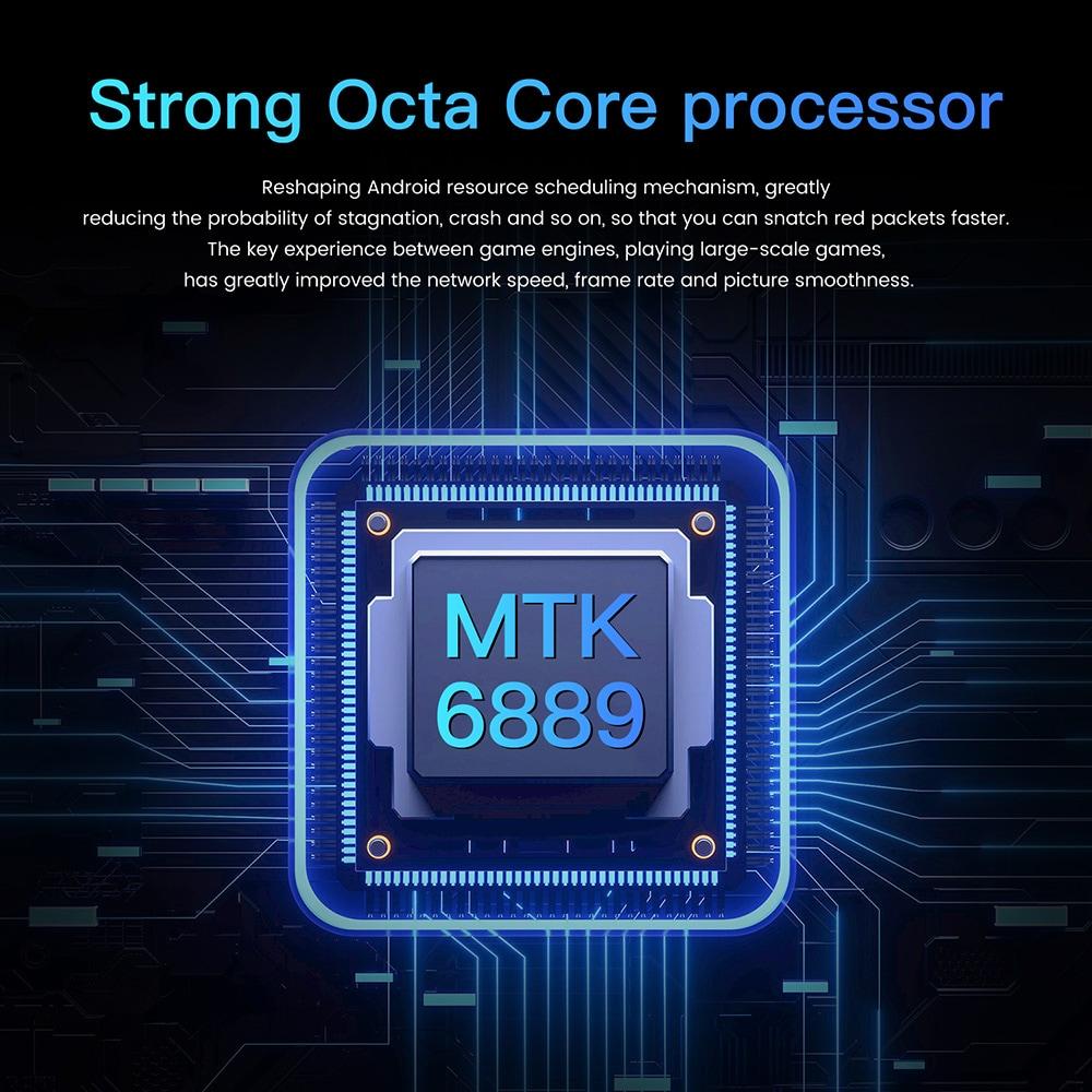 M10 Ultra okostelefon - Golden UK csatlakozó