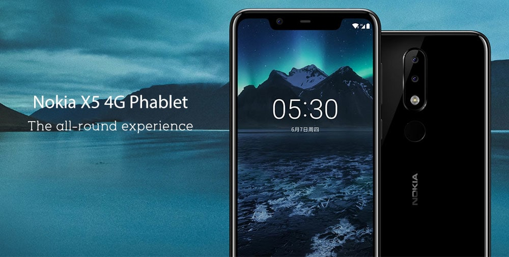 Nokia X5 4G okostelefon