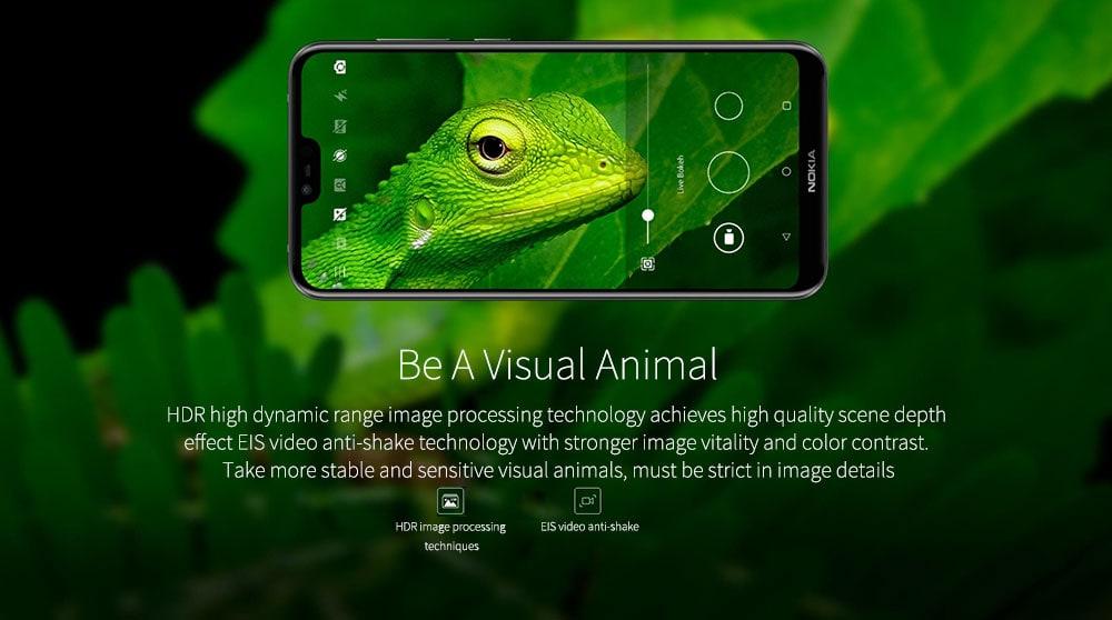 Nokia X6 ( Nokia 6.1 Plus ) 4G okostelefon