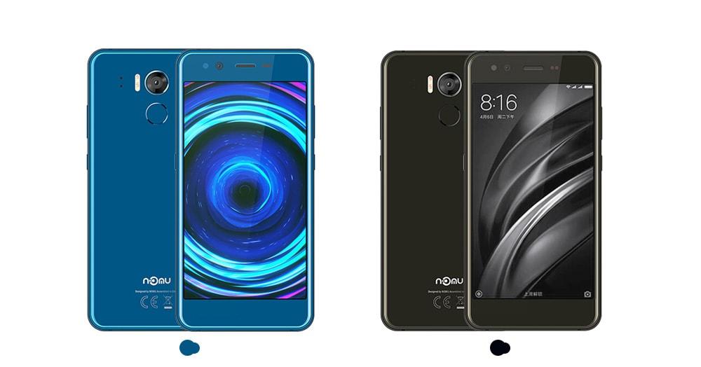 NOMU M8 4G Smartphone 5.2 inch Android 7.0 MTK6750T Octa Core 1.5GHz 4GB RAM 64GB ROM 16.0MP Rear Camera 2950mAh Battery- Gray