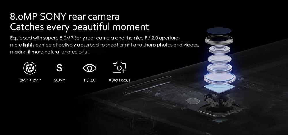 NOMU S30 Mini 4G Smartphone 4.7 inch Android 7.0 MTK6737VWT Quad Core 1.5GHz 3GB RAM 32GB ROM 8.0MP Rear Camera 3000mAh Battery- Gray