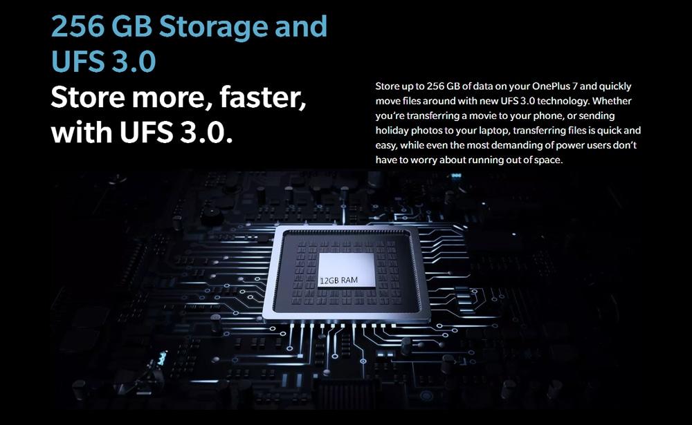 OnePlus 7 4G Phablet 6.41 inch Oxygen OS Snapdragon 855 Octa Core 12GB RAM 256GB ROM 48MP Rear Camera 3700mAh Battery International Version - Red